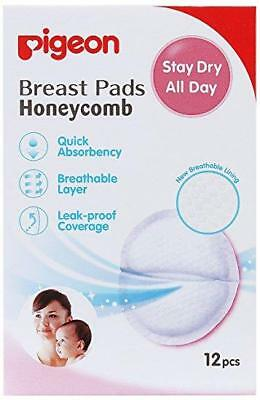 Pigeon Disposable Maternity Absorbent Honeycomb Breast Pads Comes In 12/30/60