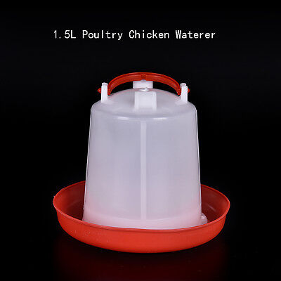 1.5L Feeder Or Drinker Chicken / Poultry / Duck/Hen Food & Water Accesories