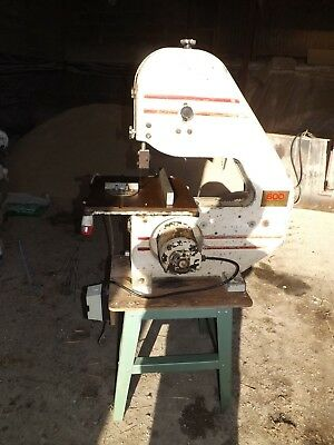 Bandsaw - Startrite  (3 phase 3 ) MOTOR RE WOUND 240 /440 V