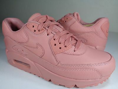 sneakers for cheap 02491 be4cb Womens Nike Air Max 90 Pinnacle Red Stardust Pink Nikelab SZ 9.5 (839612-601