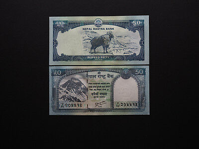 Nepal Banknotes Quirky Set of Five Wildlife Issue  -  Excellent Value   Good UNC