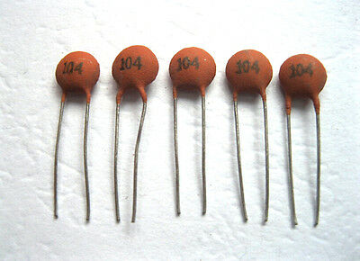 Hot Stable 100pcs/bag Ceramic Disc Capacitors 50V 100nF 0.1uF