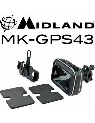 RXUK MK-GPS43 Case with stand for motorcycle GPS navigators