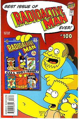 RADIOACTIVE MAN (2ND SERIES) 100...NM-...2000...Great Comic!...VHTF Bargain!