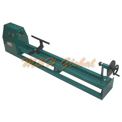 "14x40"" Wood Turning Lathe 1/2 HP 40 Inch 4 Speed Power"
