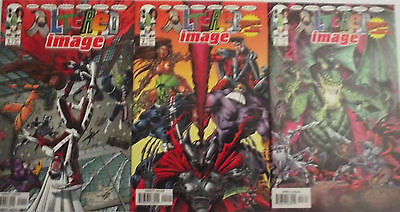 ALTERED IMAGE 1,2,3...NM-...1998...Spawn,Witchblade,Maxx,Etc...Bargain Set!