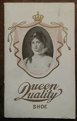 1903 Queen Quality shoe catalog, Clisby & McKay shoe store Macon, Georgia RARE
