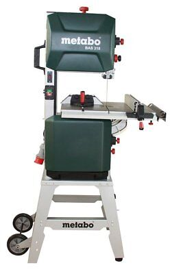 Metabo BAS 318 Precision DNB Holz und Metall Bandsäge 619010000