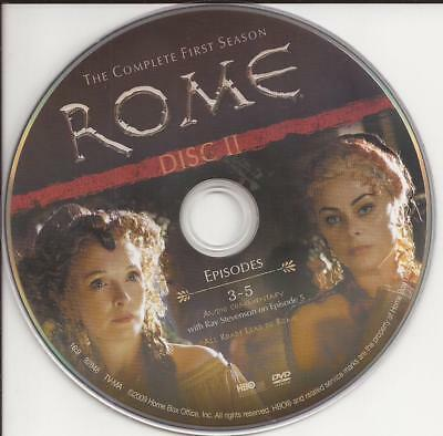 Rome (DVD) HBO First Season 1 Disc 2  Replacement Disc U.S. Issue Disc Only!