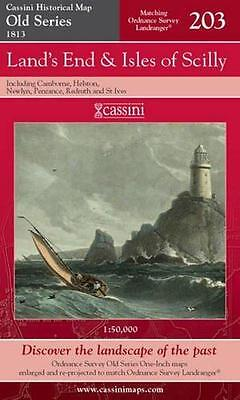 Land's End and Isles of S.Cassini Publish.Ltd.Old Series(Sht.map,folded,2007)NEW