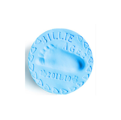 Air Drying Soft Clay for Baby Hand Print and Foot Prints (BLUE COLOUR)