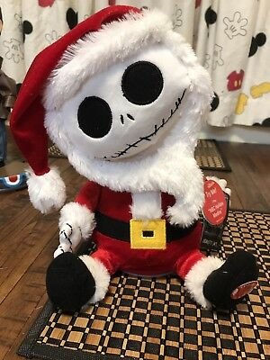 NWT JACK SKELLINGTON  SANDY CLAWS Animated music Nightmare Before Christmas