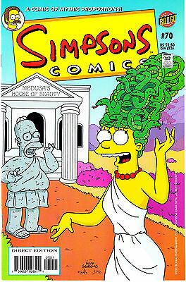SIMPSONS COMICS 70...VF/NM...2002...Great Comic!...Bargain!