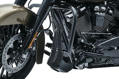 Kuryakyn 6418 Precision™ Oil Cooler Cover for Milwaukee-Eight® Touring Black