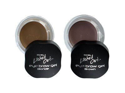 Royal Lashed Out Eyebrow Gel - Brown Blonde