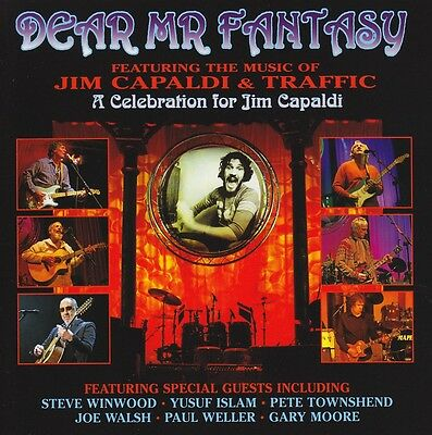 Dear Mr Fantasy Jim Capaldi Tribute (2 Cd) Steve Winwood~Traffic~Joe Walsh *new*