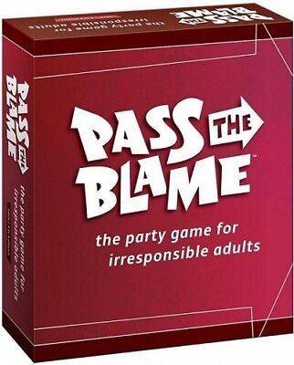 Pass The Blame - The Party Game For Irresponsible Adults