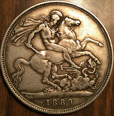 1889 United Kingdom Silver Crown