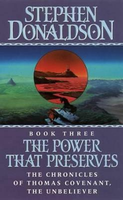 The Power That Preserves - Stephen Donaldson - Acceptable - Paperback