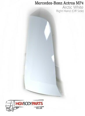 Mercedes Actros MP4 Cab Corner Wind Deflector RH - Painted White