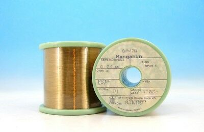 32 AWG //15,6 Ohm //m . Constant current wire with enamel insulation 25,0  m