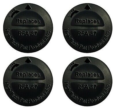 Replacement Battery for Petsafe Model RFA-67 - 4 Pack from HIGH TECH PET