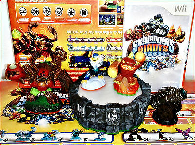 Wii Skylanders Giants Game +Portale+6 Figuren
