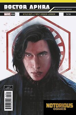Star Wars Doctor Aphra #19 Galactic Icon Variant Marvel Comics 1st Print 04//25