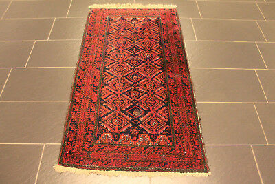 old rug afghan ca 190x100cm tappeto tapis. Black Bedroom Furniture Sets. Home Design Ideas