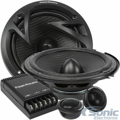 "NEW!! Power Acoustik EF-60C 500 Watt 6.5"" Edge Series 2-Way Car Components"