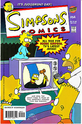 SIMPSONS COMICS 64...VF/NM...2001...Great Comic!...Bargain!