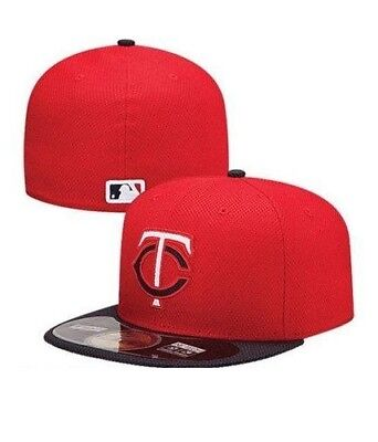 premium selection 4c1c9 eb784 New Era 59FIFTY 5950 MINNESOTA TWINS Authentic Batting Practice Fitted Hat  Cap