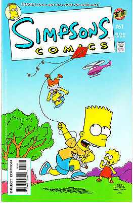 SIMPSONS COMICS 61...VF/NM...2001...Great Comic!...Bargain!