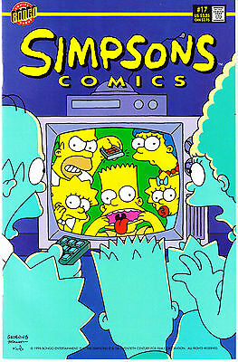 SIMPSONS COMICS 17...VF/NM...1996...Great Comic!...Bargain!