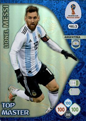 Panini WM World Cup Russia 2018 -  Nr. 463 - Lionel Messi - Top Master