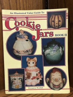 An Illustrated Value Guide to Cookie Jars (Book II)-ExLibrary