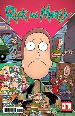 RICK AND MORTY #36 Reg and Variant   ONI PRESS EST REL DATE 03/28/2018