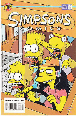 SIMPSONS COMICS 26...VF/NM...1996...Great Comic!...Bargain!