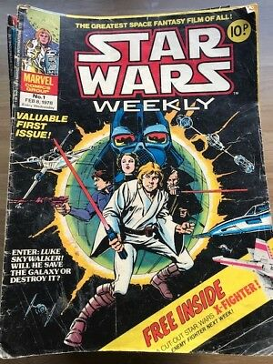 Star Wars weekly comics