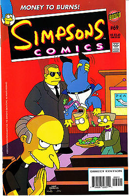 SIMPSONS COMICS 69...VF/NM...2002...Great Comic!...Bargain!