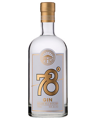 Adelaide Hills Distillery 78 Degrees Small Batch Gin 700mL case of 6