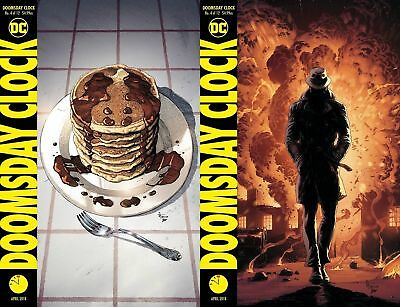 DOOMSDAY CLOCK #4 CVR A + B 2 (OF 12)  DC COMICS rel date 03/28/2018