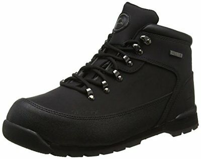 Mens Groundwork Lightweight Fashion Work Steel Toe Cap Safety Boots Shoes Black