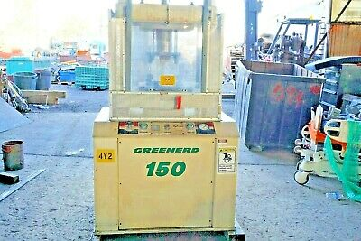 Greenerd 150 Ton Hydraulic Press  Heavy Duty 4 Post ,Model CPA 150 Hydrolair