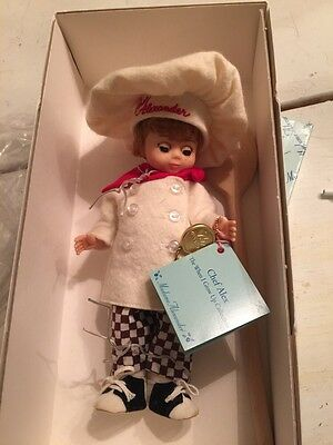 Vintage Madame Alexander Doll ~ When I grow Up Collection Chef Alex MIB #3