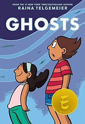 Ghosts by Telgemeier, Raina Book The Cheap Fast Free Post