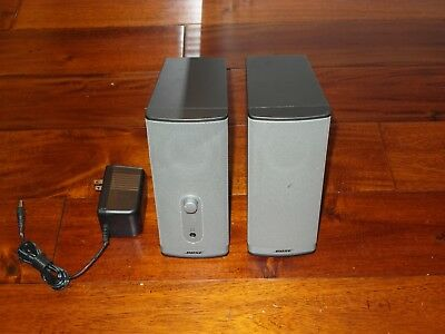 Bose Companion 2 Series II Computer Speakers W/ Power Supply