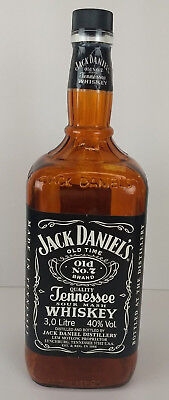 Jack Daniels Old no. 7 15.5 inch tall 3 Liter Display Bottle Empty