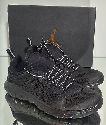 8e4d26edddd649 NIKE JORDAN FLIGHT FLEX TRAINER 654268 005 MEN S SHOES BLACK Size 11.5 NEW