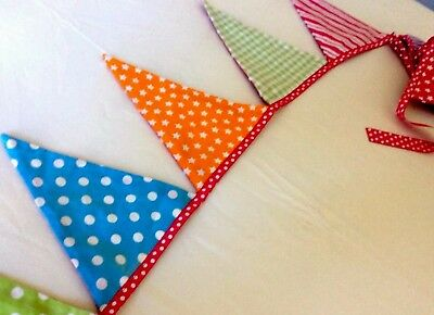 Multi coloured  Bunting - ideal for a party or child's room